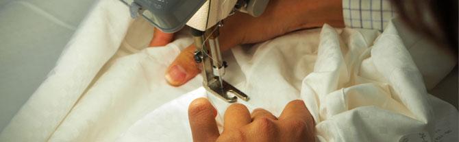オーダーシャツ本縫い