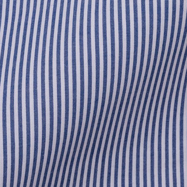 綿100%形態安定オーダーシャツ生地